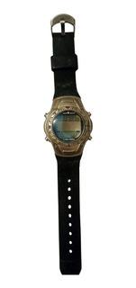 Relógio Digital Masculino, Corpo Em Aço, Pulseira Borracha
