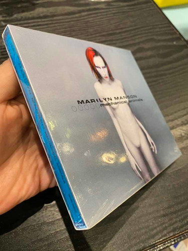 Mechanical Animals Marilyn Manson Primera Edición