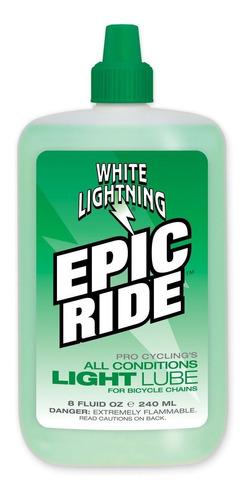 Imagen 1 de 4 de Aceite Para Bicicleta White Ligthning Epic Ride 60ml