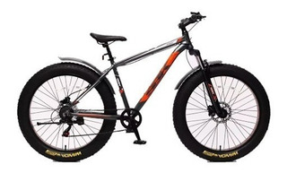 Bicicleta Sbk Fat Bike Suspension Mtb Alum Disco Hidraulico