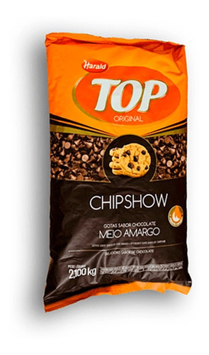 Imagen 1 de 3 de Chips De Chocolate Semi Amargo Por 2.1 Kg