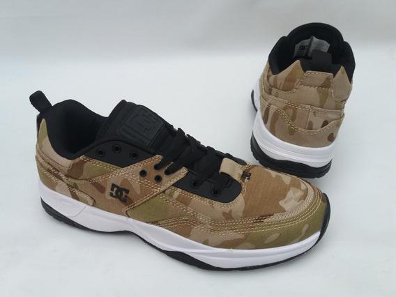 Tênis Dc Shoes Tribeka Tx Se Importado Camuflado Camo