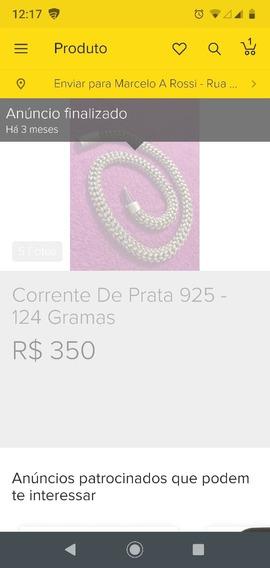 Compro Cordão Prata 925 Vendido Em Abril Aqui No M L Por 350