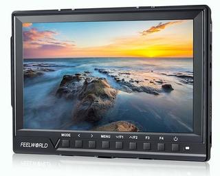 Monitor 4k Cámara Dslr Feelworld Fw760 ¡¡oferta!!