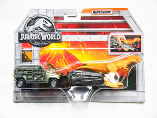 Tyrano-hauler Jurassic World Matchbox
