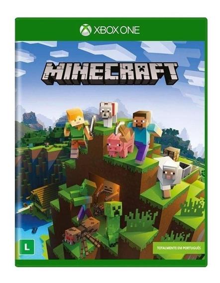 Minecraft Xbox One Mídia Física Novo Lacrado