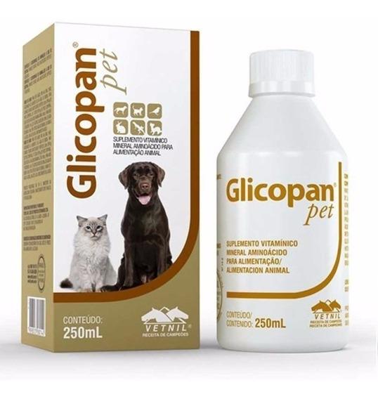 Glicopan Pet 250 Ml Vetnil Suplemento Vitamínico