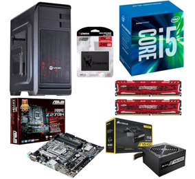 Pc Hunter I5 7400 Asus Z270m Plus Bl 16gb Vs400 Ssd 240gb