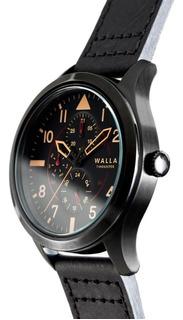 Reloj Hombre Walla - Timekeeper - Midnight Black - Seiko