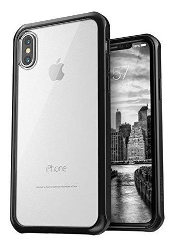 Funda Protectora Transparente Para iPhone X  Antideslizante