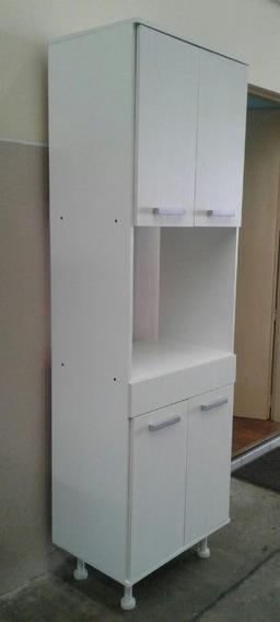 Despensero Porta Micro 4 Puerta 1.83 Alto Cocina Organizador