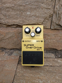 Pedal Sd-1 Super Overdrive Boss