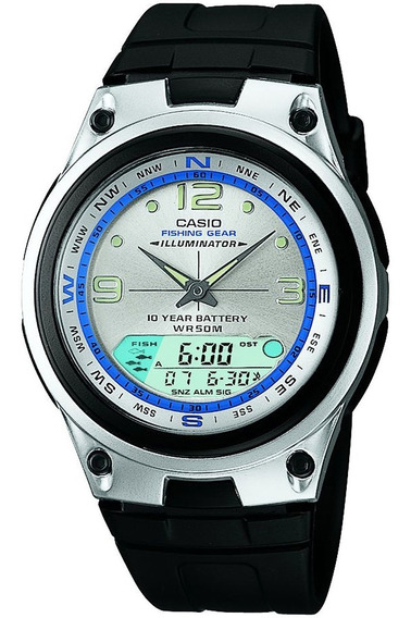Relógio Casio - Aw-82-7avdf - Fishing-gear