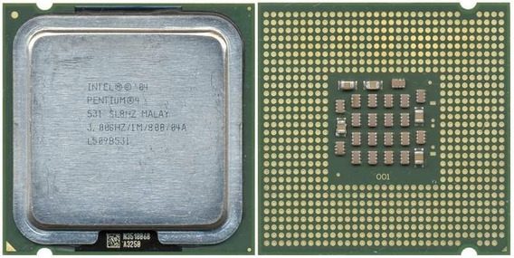 Lote 5 Processadores Intel Pentium 4 531 Ht 3,00ghz/800mhz.
