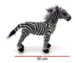 Peluche Cebra Parado Animal 30 Cm Phi Phi Toys La Plata Myuj