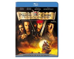 Blu-ray Piratas Do Caribe: A Maldição Do Pérola Negra