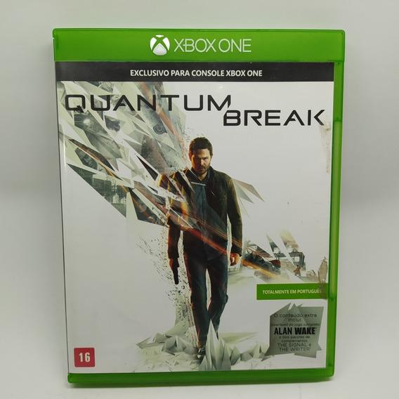 Quantum Break Xbox One Mídia Física Usado Total Português