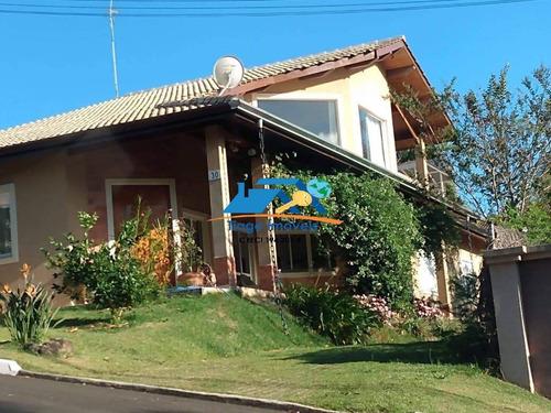 Linda Casa Em Condomínio Na Cidade De Atibaia - 681
