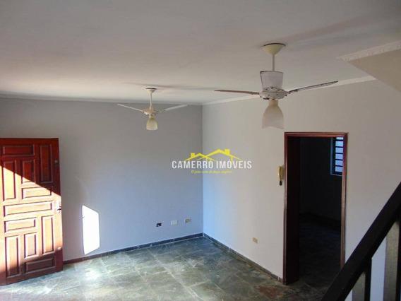 Casa Com 3 Dormitórios Para Alugar, 90 M² Por R$ 800/mês - Morada Do Sol - Americana/sp - Ca2101