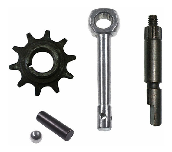 Pinhao Do Motor 2t Kit Motorizada+braço Da Embreagem E Pino