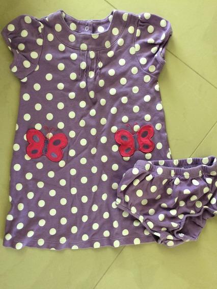Vestido Carters Niña 24 Meses Morado