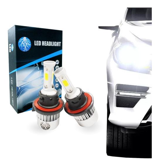 Par Lampadas Xenon Shock Light H13 Power Led 3d 9000lm 6000k
