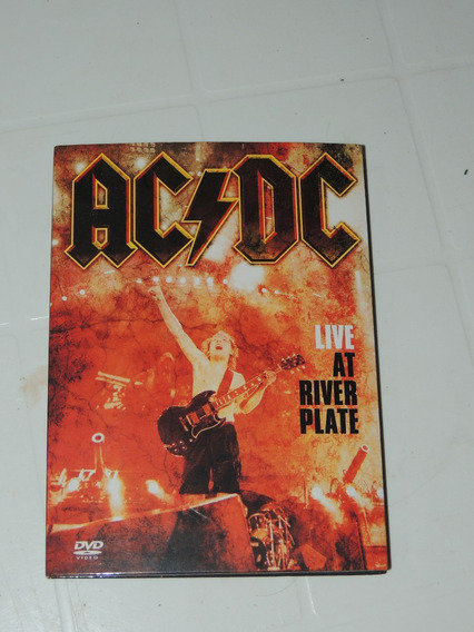 Ac/dc Live At River Plate. Único Y Exclusivo.