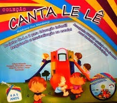 Coleção Canta Le Lê 4 A 5 Anos 4 Vol + Cd E Dvd - F. Grátis