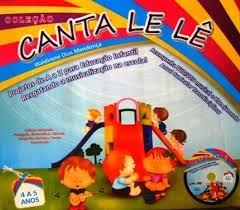 Coleção Canta Le Lê 4 A 5 Anos + Cd E Dvd