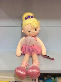 Bailarina Boneca Grande De Pelúcia Buba Ref 4157