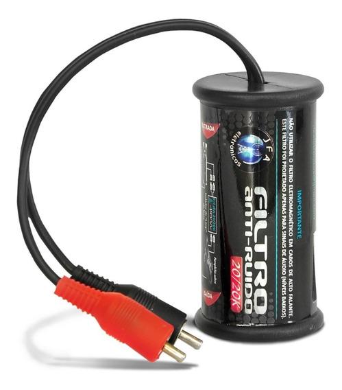 Filtro Jfa Anti Ruído Eletromagnetico Stereo Sem Chiado
