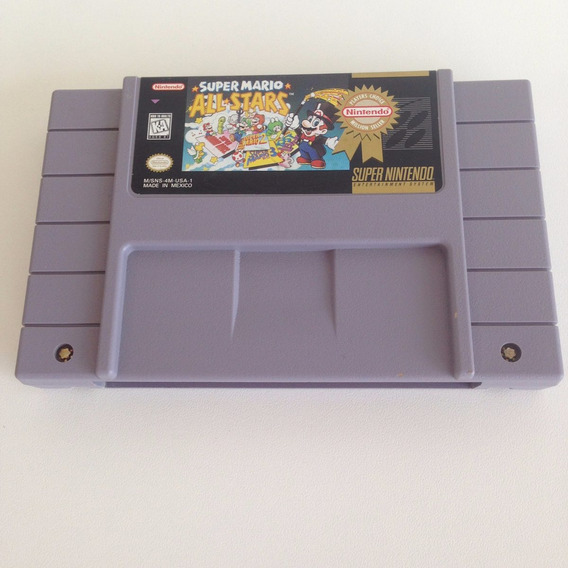 Super Mario All Stars Million Seller - Super Nintendo