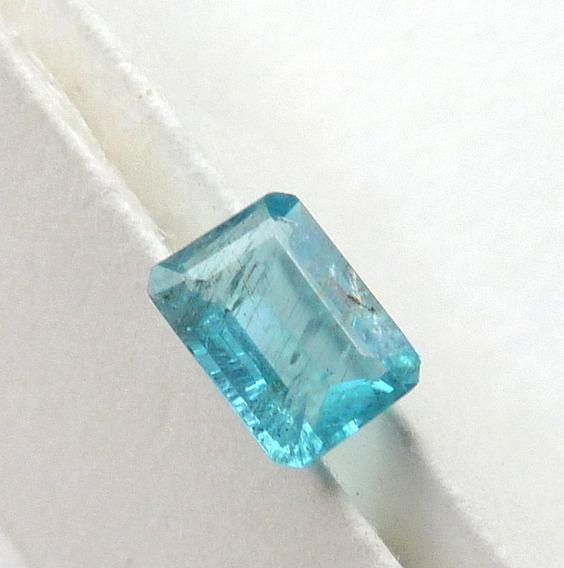 Apatita Natural Pedra Preciosa Retângulo 1,0 Ct 8008