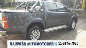 Toyota Hilux Srv 3.0 Tdi 4x4 Con Cuero