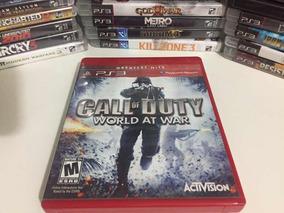 Jogo Ps3 - Call Of Duty World At War