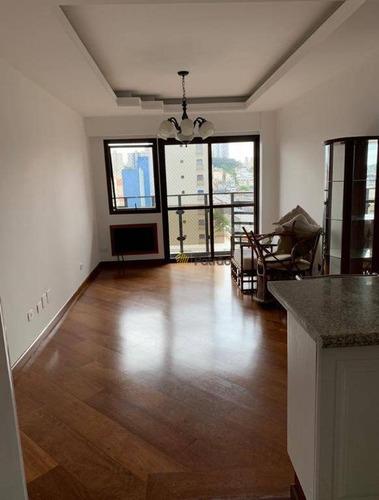 Imagem 1 de 12 de Flat Com 1 Dormitório À Venda, 48 M² Por R$ 240.000,00 - Centro - São Bernardo Do Campo/sp - Fl0017