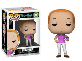 Summer Rick And Morty Funko Pop