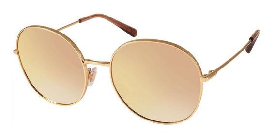 Óculos De Sol Espelhado Dolce E Gabbana Dg2243 1298/6f 58
