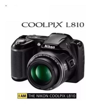 Máquina De Fotos Coolpix L810 Nikon Para Reparar O Repuestos