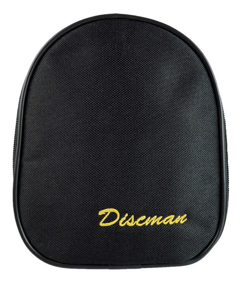 Porta Discman E Cds Estojo De Proteção