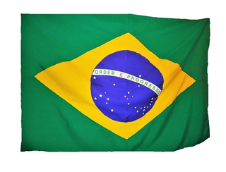 Conj. Bandeiras Brasil Mato Grosso E Cuiabá - Tam.90x129cm