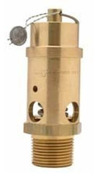 Valvula 1/2 Asme Safety Relief Valve 125 Psi American Made