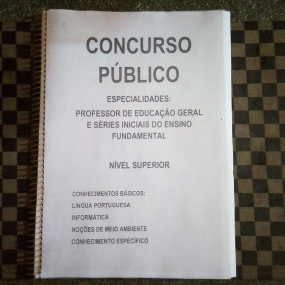 Apostila Concurso Público Do Estado Para Professor