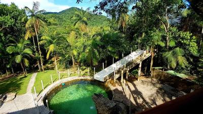 Sitio Em Mongaguá, Cachoeira, Piscina, Plantação - Ref: C