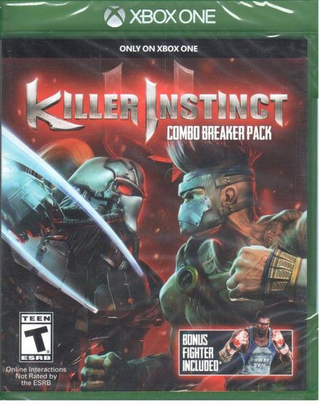 Killer Instinct Combo Breaker Xbox One Mídia Física Lacrado