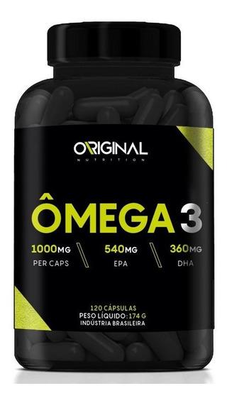 Ômega 3 120 Cáps - Original Nutrition