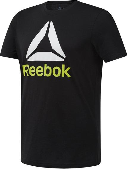 Playera Para Hombre Reebok Wear Du4691 Negro