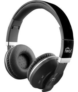 Fone Ouvido Headphone Sem Fio Microsd Usb Fm Bluetooth Favix