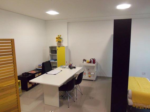 Sala Comercial Com Ar Condicionado - Centro De São Bernardo Do Campo - 42749
