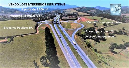 Terreno Industrial Em Bragança Paulista - Sp - Te0043_marrey
